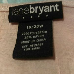 Lane Bryant Tops - Lane Bryant sequin tank top